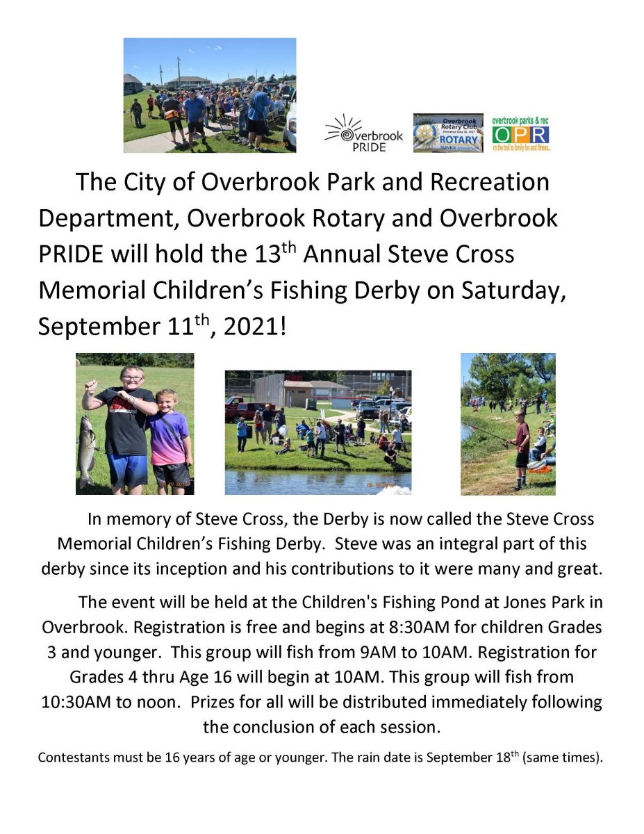 2021 Overbrook Kids Fishing Derby
