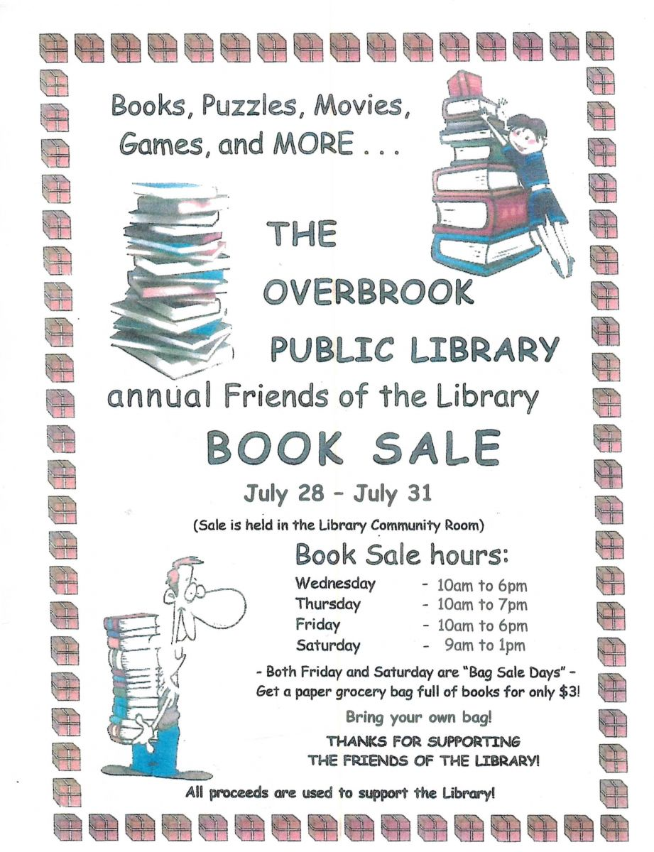 Overbrook Library annual Book Sale