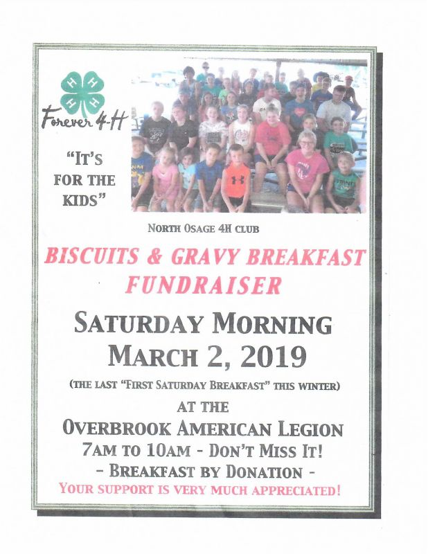 Biscuits and Gravy Fundraiser